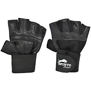 Weight Lifting gloves with straps